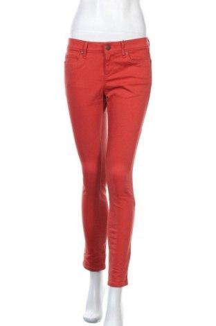 Дамски панталон Ann Taylor, Размер S, Цвят Оранжев, 98% памук, 2% еластан, Цена 9,45лв.