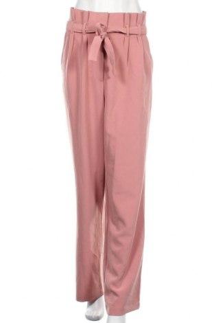 Γυναικείο παντελόνι Bik Bok, Μέγεθος L, Χρώμα Ρόζ , 95% πολυεστέρας, 5% ελαστάνη, Τιμή 17,54€