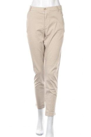 Дамски панталон Boss Orange, Размер M, Цвят Бежов, Цена 29,30лв.
