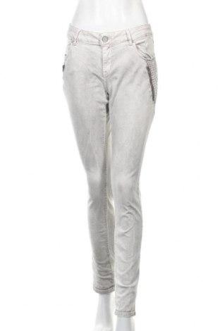 Γυναικείο παντελόνι Buena Vista, Μέγεθος L, Χρώμα Γκρί, 87% βαμβάκι, 11% πολυεστέρας, 2% ελαστάνη, Τιμή 12,67€