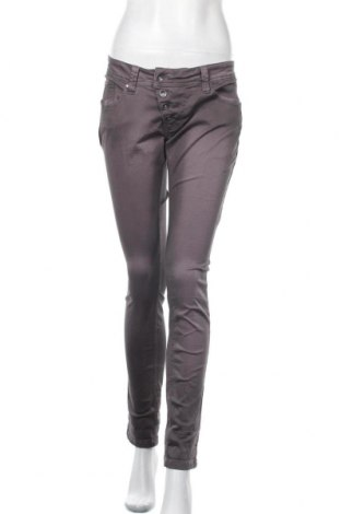 Γυναικείο παντελόνι Buena Vista, Μέγεθος M, Χρώμα Γκρί, 98% βαμβάκι, 2% ελαστάνη, Τιμή 16,66€