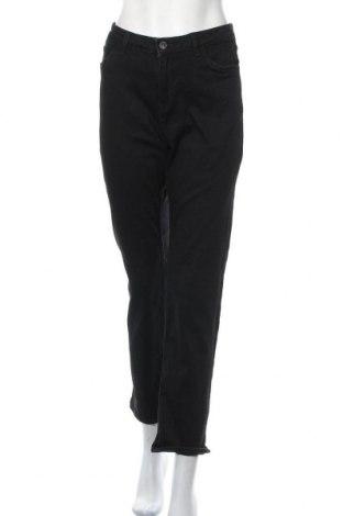 Дамски панталон C&A, Размер M, Цвят Черен, 45% памук, 19% полиестер, 2% еластан, 34% модал, Цена 9,56лв.