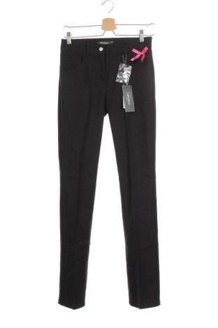 Pantaloni de femei Camomilla, Mărime S, Culoare Negru, 57% bumbac, 40% poliester, 3% elastan, Preț 58,55 Lei