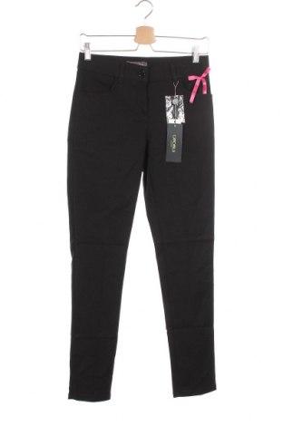 Дамски панталон Camomilla, Размер S, Цвят Черен, 57% памук, 40% полиестер, 3% еластан, Цена 49,20лв.