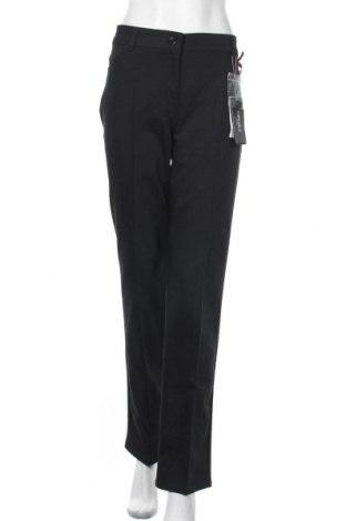 Γυναικείο παντελόνι Camomilla, Μέγεθος XL, Χρώμα Μαύρο, 57% βαμβάκι, 40% πολυεστέρας, 3% ελαστάνη, Τιμή 10,04€