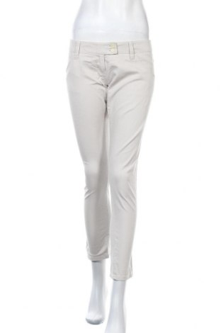 Дамски панталон Carla G., Размер L, Цвят Бял, 98% памук, 2% еластан, Цена 8,09лв.