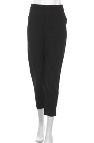 Дамски панталон Clockhouse, Размер XL, Цвят Черен, 92% вискоза, 8% полиестер, Цена 25,20лв.