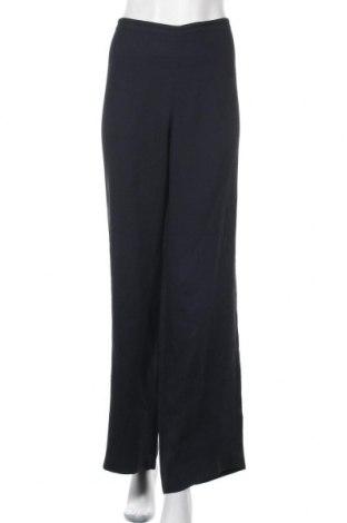 Дамски панталон Emporio Armani, Размер XL, Цвят Син, 79% вискоза, 21% ацетат, Цена 147,95лв.