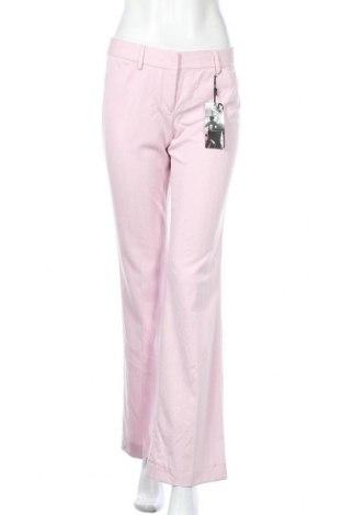 Дамски панталон Express, Размер S, Цвят Розов, 64% полиестер, 34% вискоза, 2% еластан, Цена 11,39лв.
