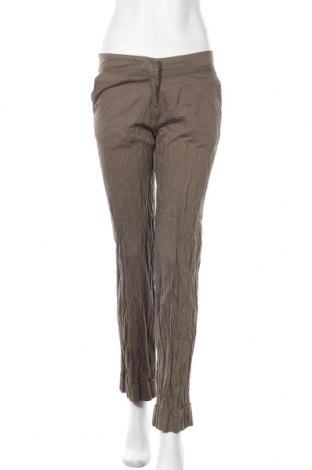 Дамски панталон Fransa, Размер S, Цвят Зелен, 94% памук, 6% метал, Цена 11,55лв.