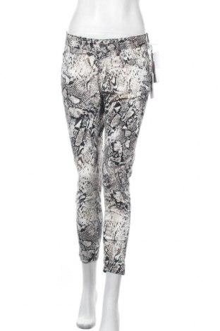 Дамски панталон Gang, Размер M, Цвят Многоцветен, 97% памук, 3% еластан, Цена 81,12лв.