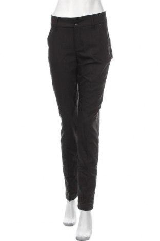 Дамски панталон Gang, Размер L, Цвят Черен, 47% памук, 49% полиестер, 4% еластан, Цена 64,07лв.