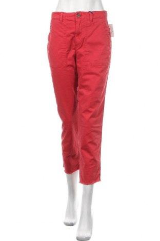 Дамски панталон Gap, Размер M, Цвят Червен, 97% памук, 3% еластан, Цена 59,25лв.