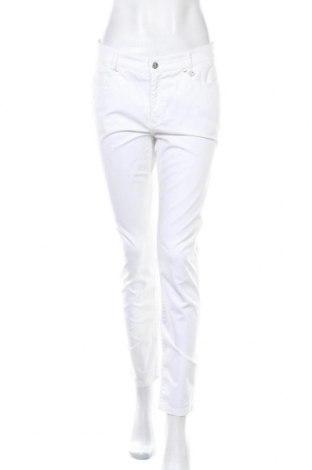 Γυναικείο παντελόνι Golfino, Μέγεθος M, Χρώμα Λευκό, 97% βαμβάκι, 3% ελαστάνη, Τιμή 25,40€