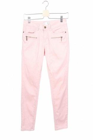 Дамски панталон Heine, Размер XS, Цвят Розов, 65% памук, 33% полиестер, 2% еластан, Цена 24,15лв.