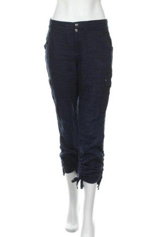Дамски панталон INC International Concepts, Размер M, Цвят Син, Лен, Цена 33,00лв.