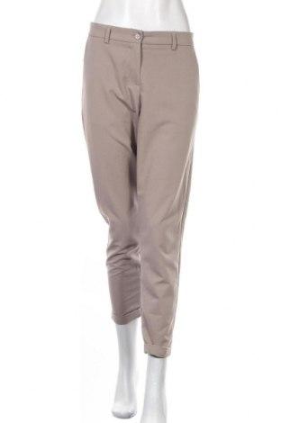 Дамски панталон Imperial, Размер L, Цвят Бежов, 75% полиестер, 23% вискоза, 2% еластан, Цена 17,64лв.