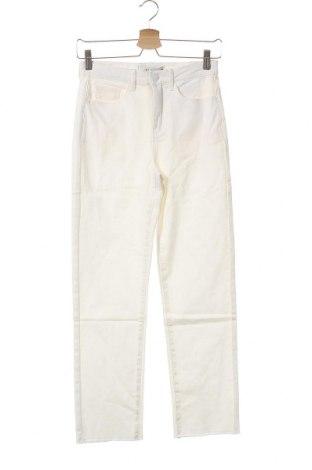 Γυναικείο παντελόνι Jdy, Μέγεθος M, Χρώμα Λευκό, 98% βαμβάκι, 2% ελαστάνη, Τιμή 11,62€