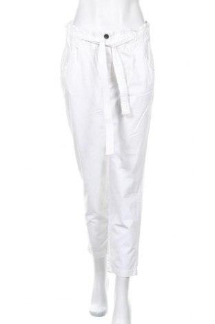 Дамски панталон Khujo, Размер L, Цвят Бял, Памук, Цена 30,24лв.