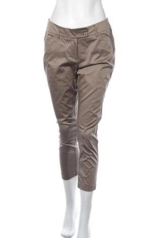 Дамски панталон Lawrence Grey, Размер M, Цвят Бежов, 98% памук, 2% еластан, Цена 38,90лв.