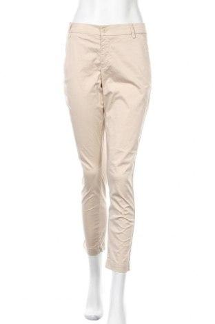 Γυναικείο παντελόνι Liu Jo, Μέγεθος XL, Χρώμα  Μπέζ, 96% βαμβάκι, 4% ελαστάνη, Τιμή 27,17€
