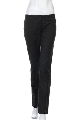 Дамски панталон Miss Miss By Valentina, Размер M, Цвят Черен, 97% вискоза, 3% еластан, Цена 7,09лв.