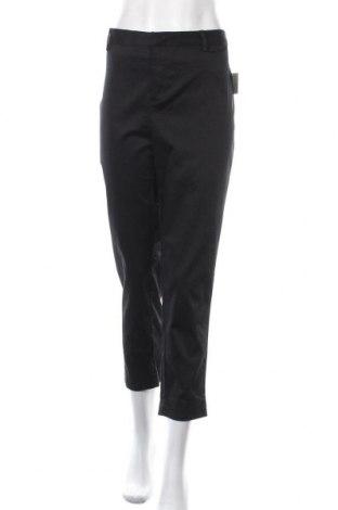 Дамски панталон Mix, Размер XXL, Цвят Черен, Памук, полиестер, еластан, Цена 36,75лв.