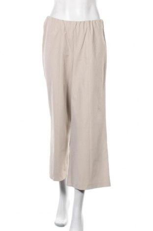 Дамски панталон Peter Hahn, Размер L, Цвят Бежов, 48% памук, 47% полиамид, 5% еластан, Цена 39,69лв.