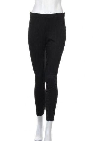 Дамски панталон Pieces, Размер S, Цвят Черен, 94% полиестер, 6% еластан, Цена 43,50лв.