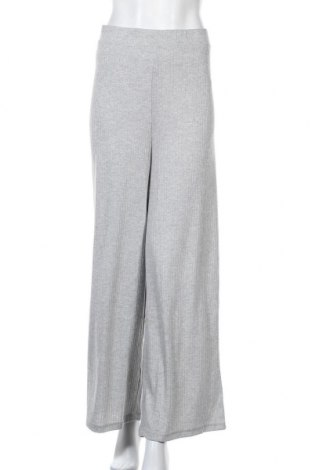 Дамски панталон Pieces, Размер XXL, Цвят Сив, 70% полиестер, 26% вискоза, 4% еластан, Цена 36,72лв.