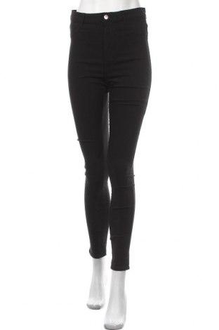 Дамски панталон Pieces, Размер L, Цвят Черен, 77% вискоза, 20% полиамид, 3% еластан, Цена 48,00лв.