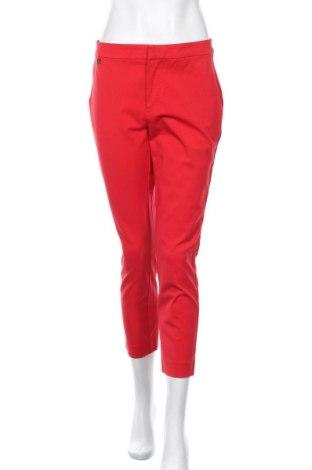Дамски панталон Ralph Lauren, Размер L, Цвят Червен, 53% памук, 41% вискоза, 6% еластан, Цена 42,00лв.