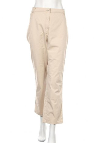 Дамски панталон Raphaela By Brax, Размер XXL, Цвят Бежов, 94% памук, 6% еластан, Цена 14,28лв.