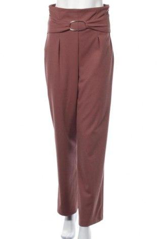 Γυναικείο παντελόνι Rinascimento, Μέγεθος M, Χρώμα Ρόζ , 95% πολυεστέρας, 5% ελαστάνη, Τιμή 30,23€