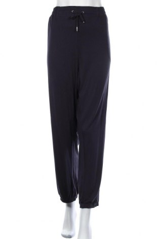 Дамски панталон Rockmans, Размер XXL, Цвят Син, Вискоза, еластан, Цена 45,89лв.