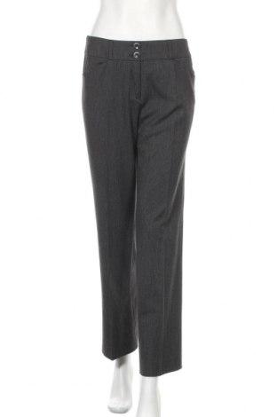 Дамски панталон S.Oliver, Размер S, Цвят Сив, 62% полиестер, 34% вискоза, 4% еластан, Цена 24,00лв.