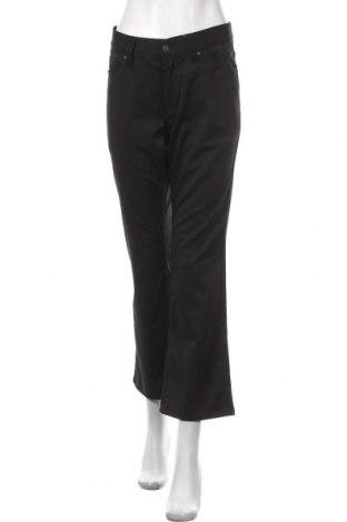 Дамски панталон S.Oliver, Размер L, Цвят Черен, 65% полиестер, 32% вискоза, 3% еластан, Цена 11,31лв.