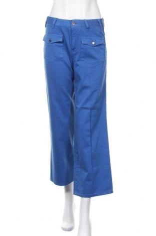Дамски панталон Stella McCartney, Размер S, Цвят Син, Памук, Цена 87,04лв.