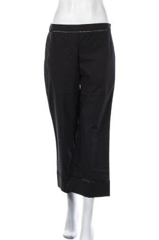 Дамски панталон TWINSET, Размер M, Цвят Черен, 96% памук, 4% еластан, Цена 141,75лв.