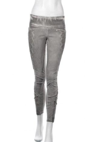 Γυναικείο παντελόνι Trendy, Μέγεθος S, Χρώμα Γκρί, 75% βισκόζη, 20% πολυαμίδη, 5% ελαστάνη, Τιμή 11,69€