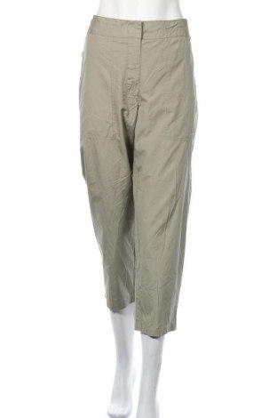 Γυναικείο παντελόνι Trenery, Μέγεθος XL, Χρώμα Πράσινο, Βαμβάκι, Τιμή 11,69€