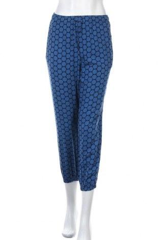 Дамски панталон Uniqlo, Размер XL, Цвят Син, Вискоза, Цена 27,93лв.