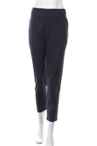 Дамски панталон Uniqlo, Размер L, Цвят Син, 69% полиестер, 29% вискоза, 2% еластан, Цена 25,20лв.
