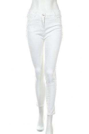 Дамски панталон Up 2 Fashion, Размер M, Цвят Бял, 71% памук, 27% полиестер, 2% еластан, Цена 26,93лв.