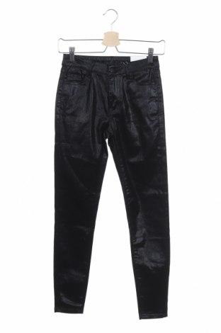 Γυναικείο παντελόνι Vila, Μέγεθος S, Χρώμα Μαύρο, 65% βαμβάκι, 33% πολυαμίδη, 2% ελαστάνη, Τιμή 9,77€
