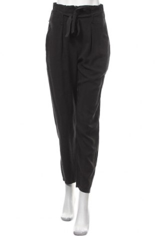 Дамски панталон Zuiki, Размер S, Цвят Черен, Тенсел, Цена 34,22лв.