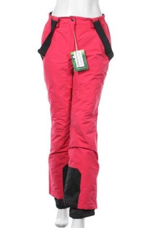 Дамски панталон за зимни спортове East Wind, Размер S, Цвят Червен, 100% полиестер, Цена 52,92лв.