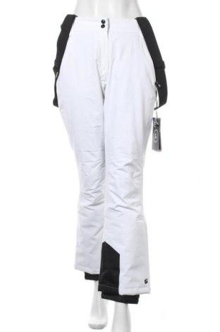 Дамски панталон за зимни спортове Killtec, Размер M, Цвят Бял, 92% полиестер, 8% еластан, Цена 63,60лв.