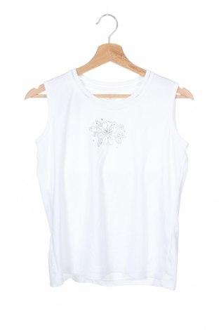 Дамски потник Allison Daley, Размер XS, Цвят Бял, 65% полиестер, 35% памук, Цена 8,19лв.