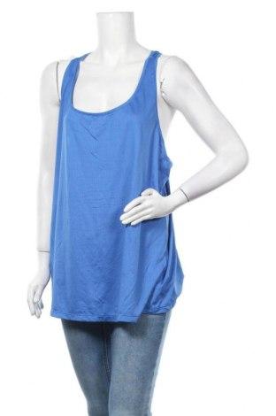 Γυναικείο αμάνικο μπλουζάκι Athletic Works, Μέγεθος XXL, Χρώμα Μπλέ, 91% πολυεστέρας, 9% ελαστάνη, Τιμή 5,45€
